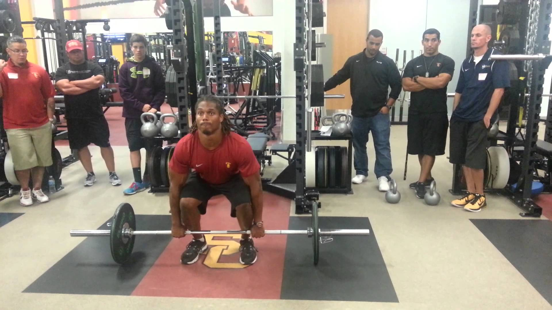 Demonstration Video: Hang Cleans