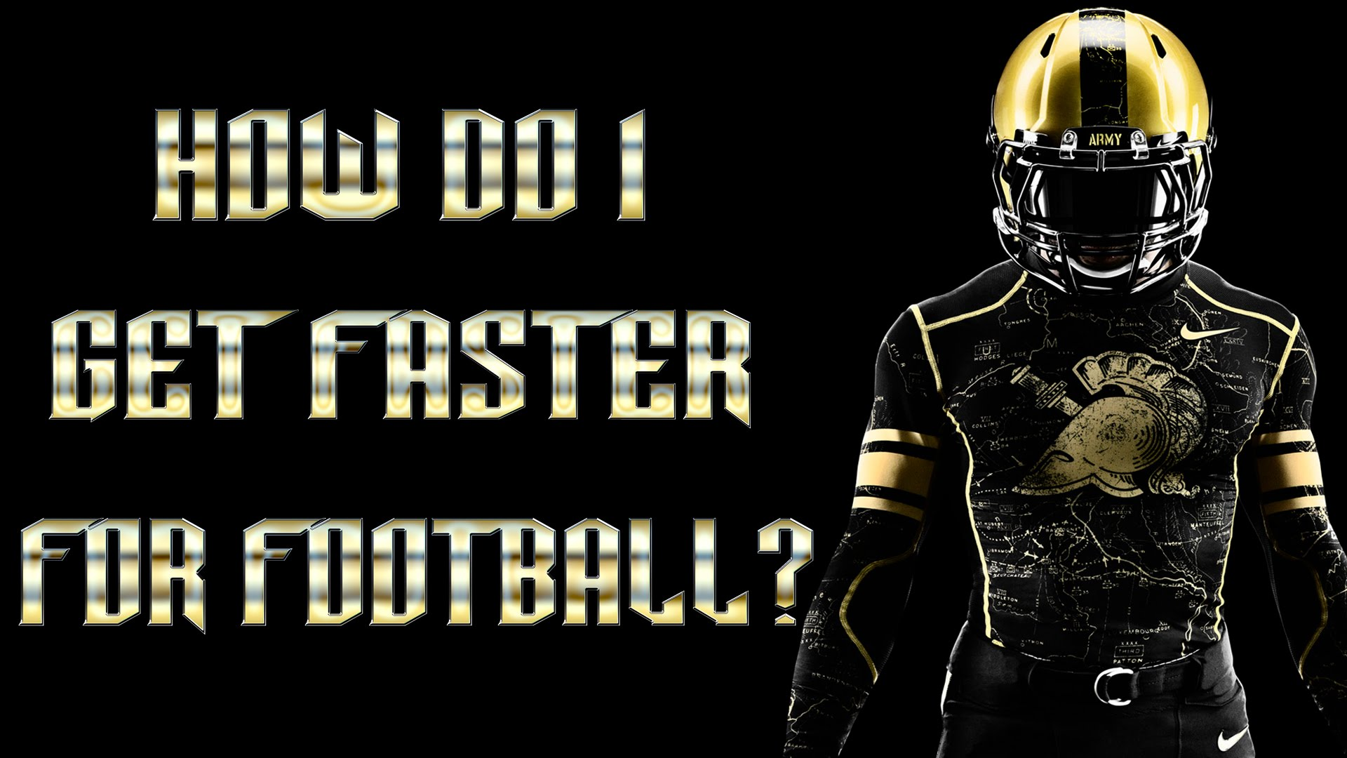 How Do I Get Faster For Football?
